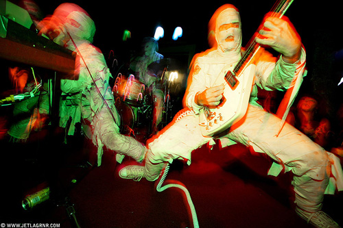 The Mummies, photo by <a href=