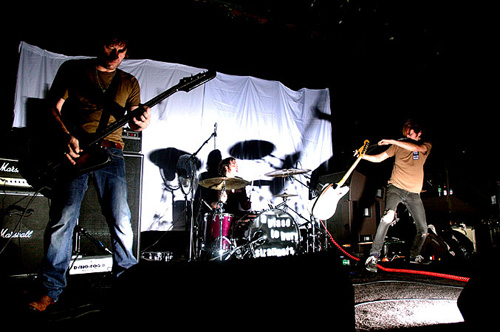 A Place To Bury Strangers Live 2007 photo by <a href=