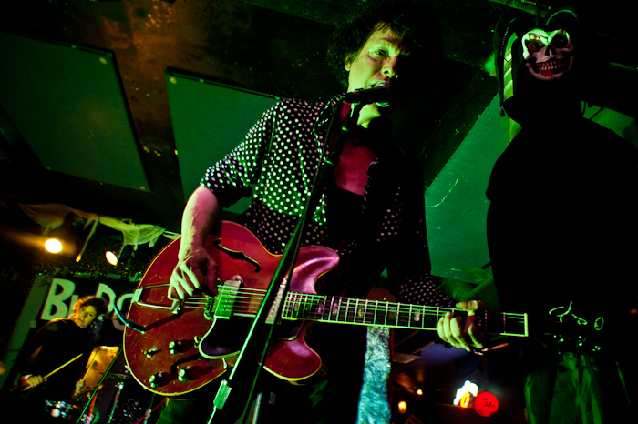 Subsonics live at Bottom of the Hill, Budget Rock 10, 2011