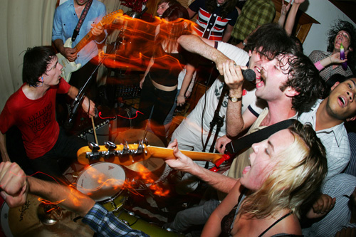 Black Lips Live at 2007 House Party by <a href=