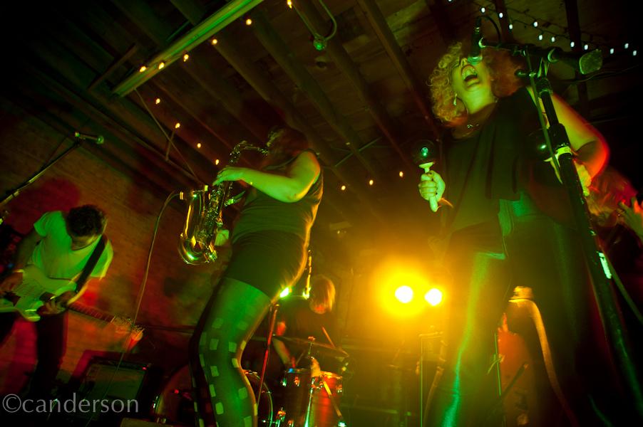 K-Holes live at the 2011 Hozac Blackout