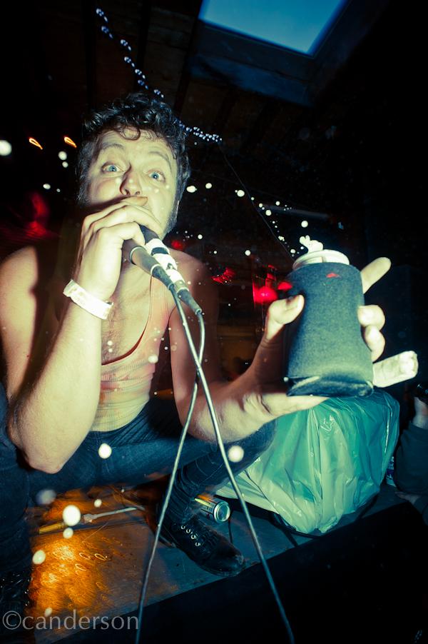 Mickey live at the 2011 Hozac Blackout