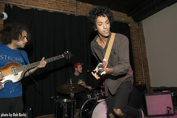 GROSS POINTE Live at Volcano Room, photo by Rob Karlic