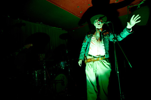 Legendary Stardust Cowboy, live in SF 2009, photo by <a href=