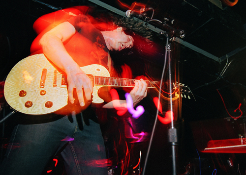 Jay Reatard in the Lost Sounds Chicago 2005 by Canderson