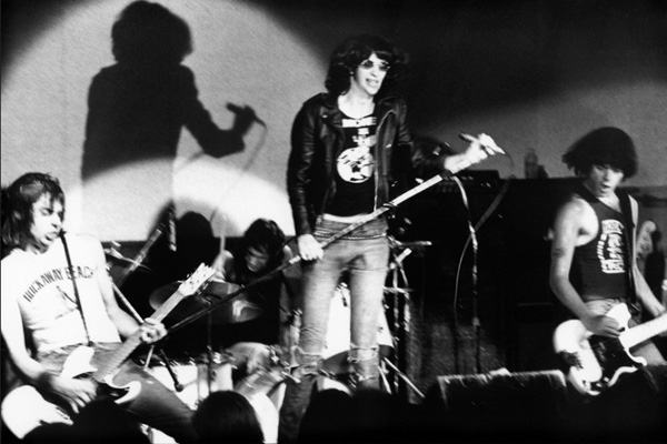 Ramones live 1978, photo by Sue Rynski