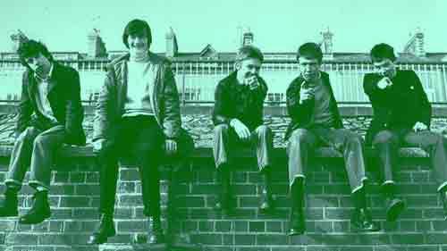 The Undertones circa 1978