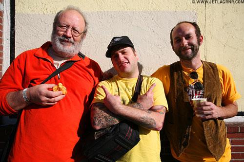 Bob Kondrak, Canderson and Justin