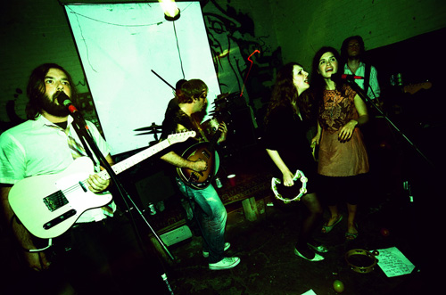 The Fresh & Onlys Live at Ghost Town Gallery in Oakland, photo by <a href=
